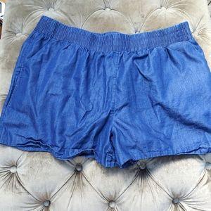 🐶 Apt.9 women's shorts with pockets size large,